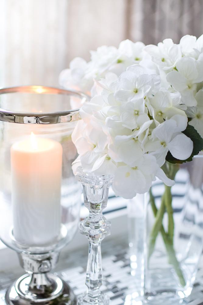 candle hydrangeas