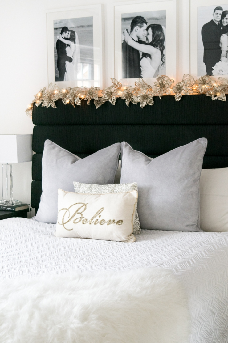 bedroom garland