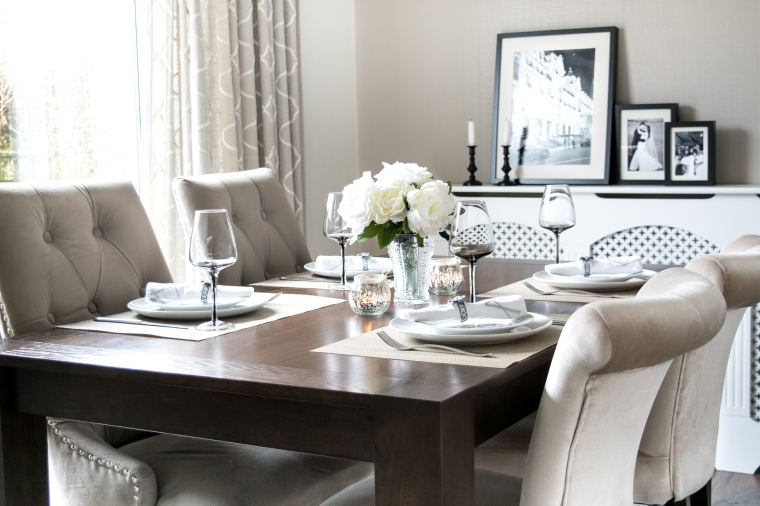 dining room photography blog zoom lens