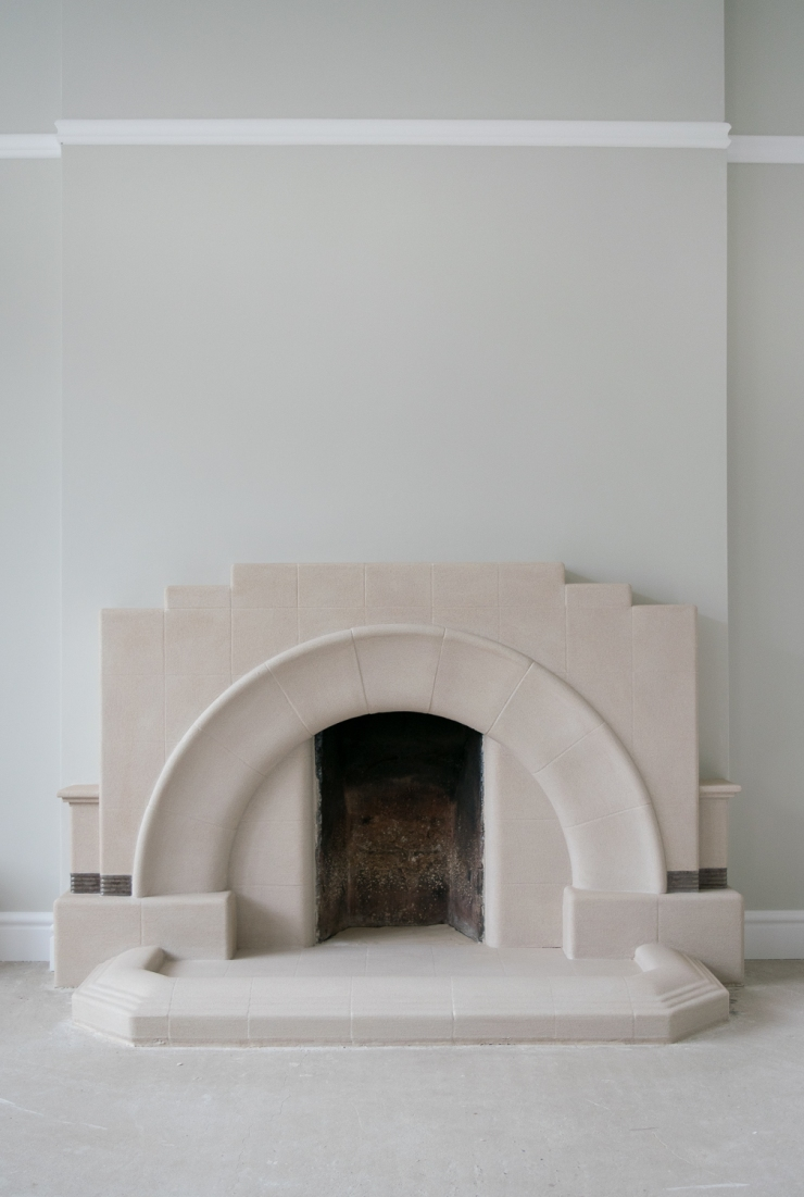 fireplace second coat